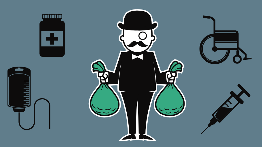 Bilderesultater for businesspeople holding money tight illustration