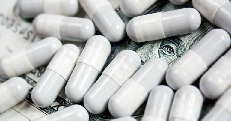 Patients need less of your drug? Time to triple the price